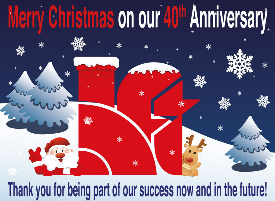 Merry Christmas and a Happy New Year from all at Huntingdon Fusion Techniques HFT®