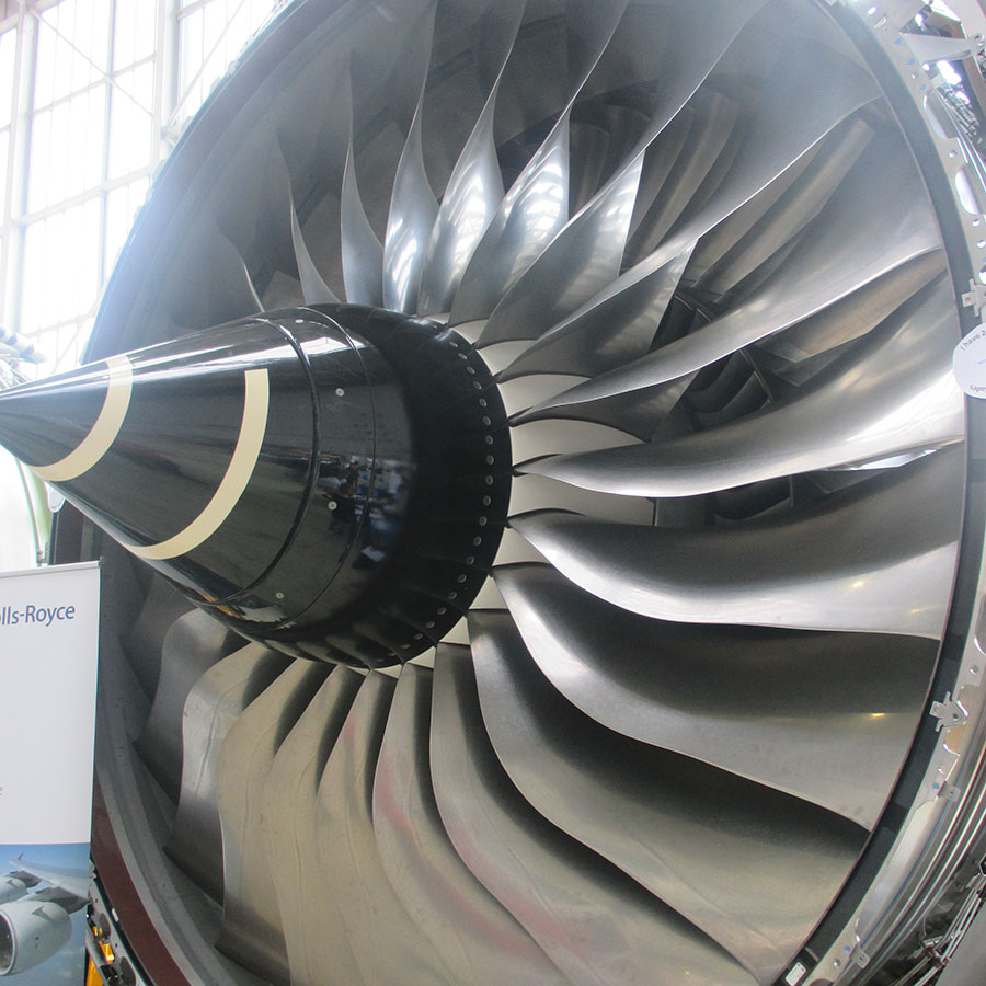 British Airways Discover Exhibition Rolls Royce Engine HFT