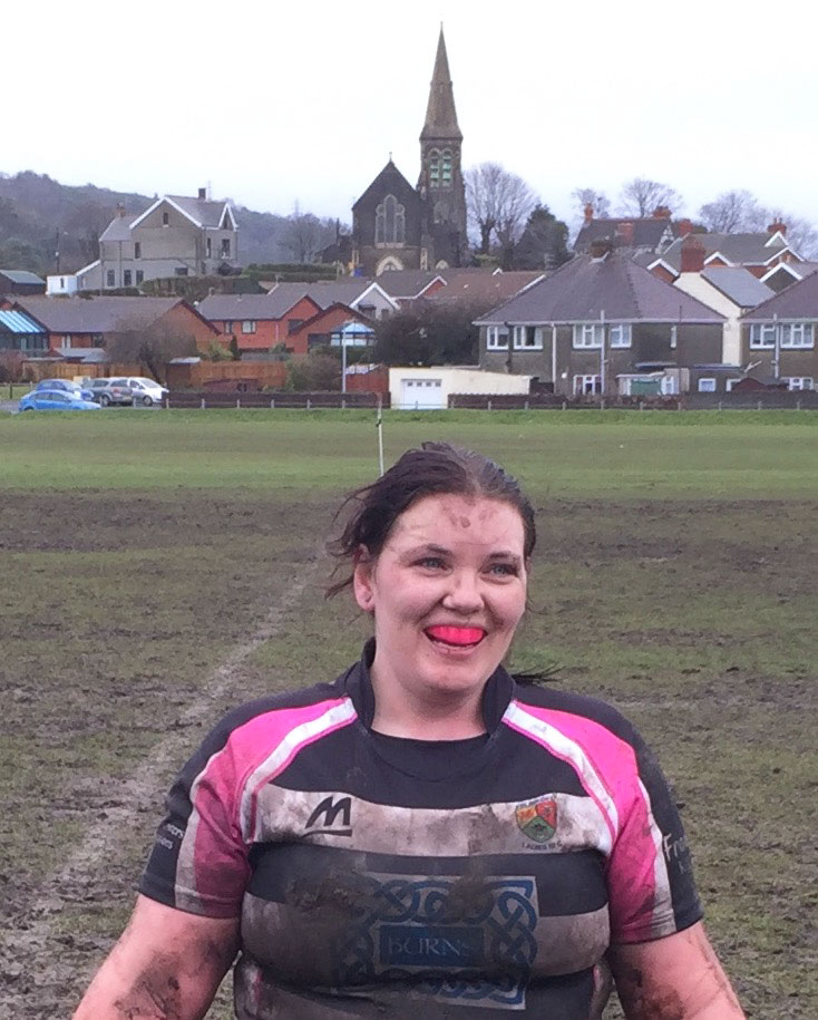 Sue Davies Ladies Rugby