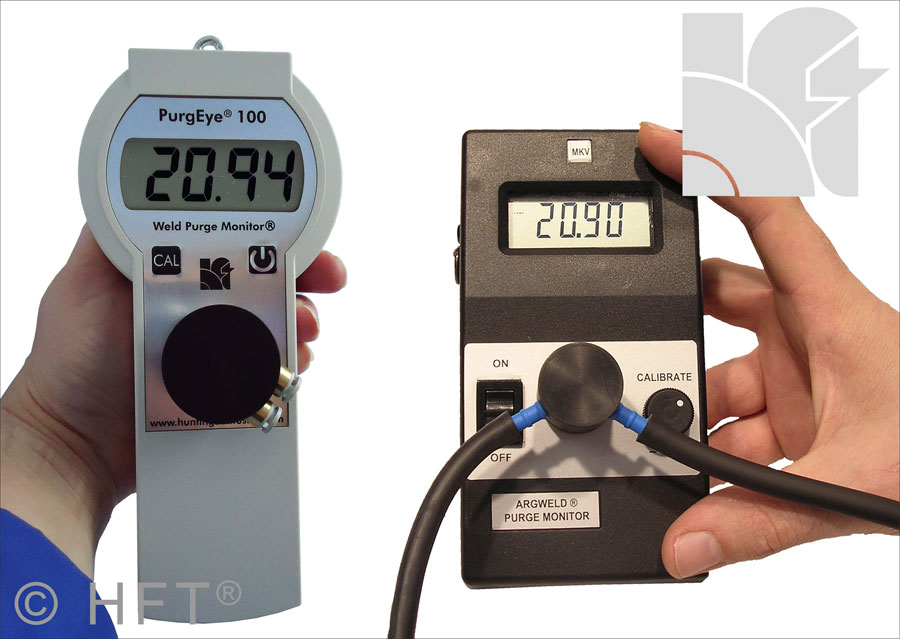 PurgEye 100 IP65 Weld Purge Monitor® Oxygen Analysing Instrument Mark V comparison update