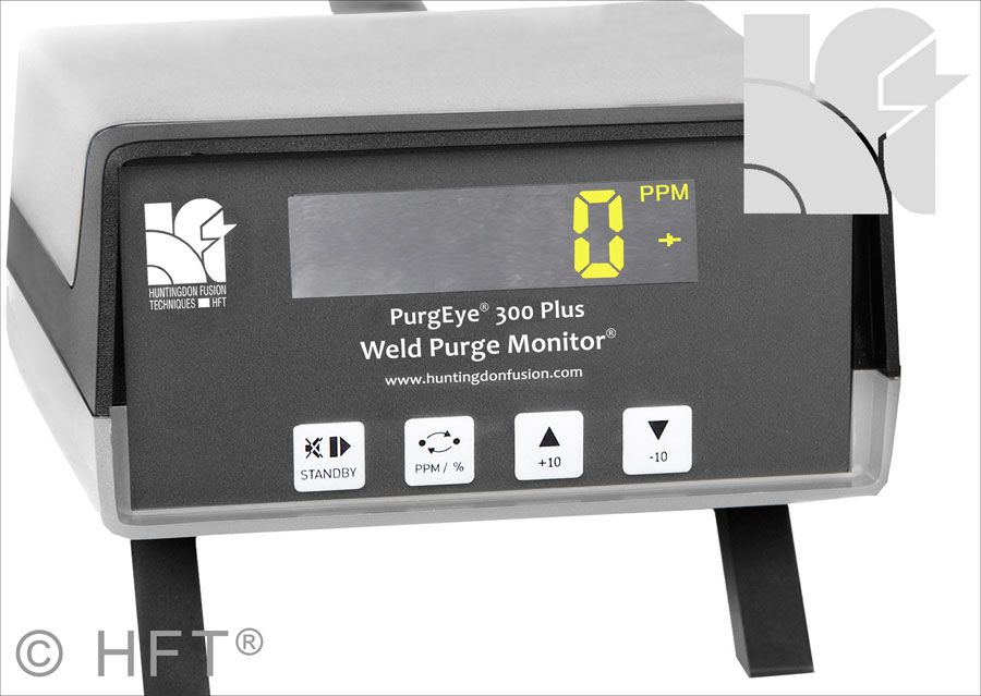 Argweld PurgEye 300 Weld Purge Monitor warming up sequence