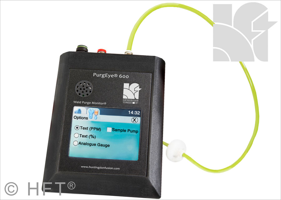 Argweld PurgEye 600 Touch Screen Weld Purge Monitor