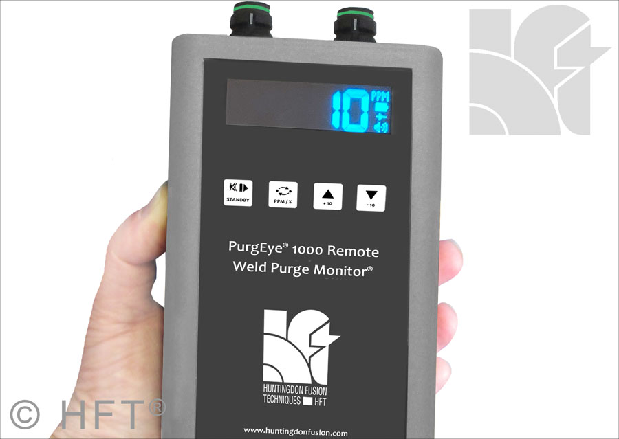 PurgEye 1000 Remote Weld Purge Monitor Sensor Display Unit