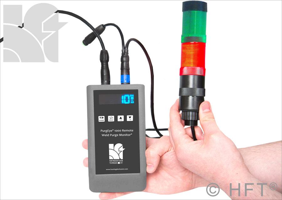 weld purging technology, oxygen reader, gas analyser, ppm trace