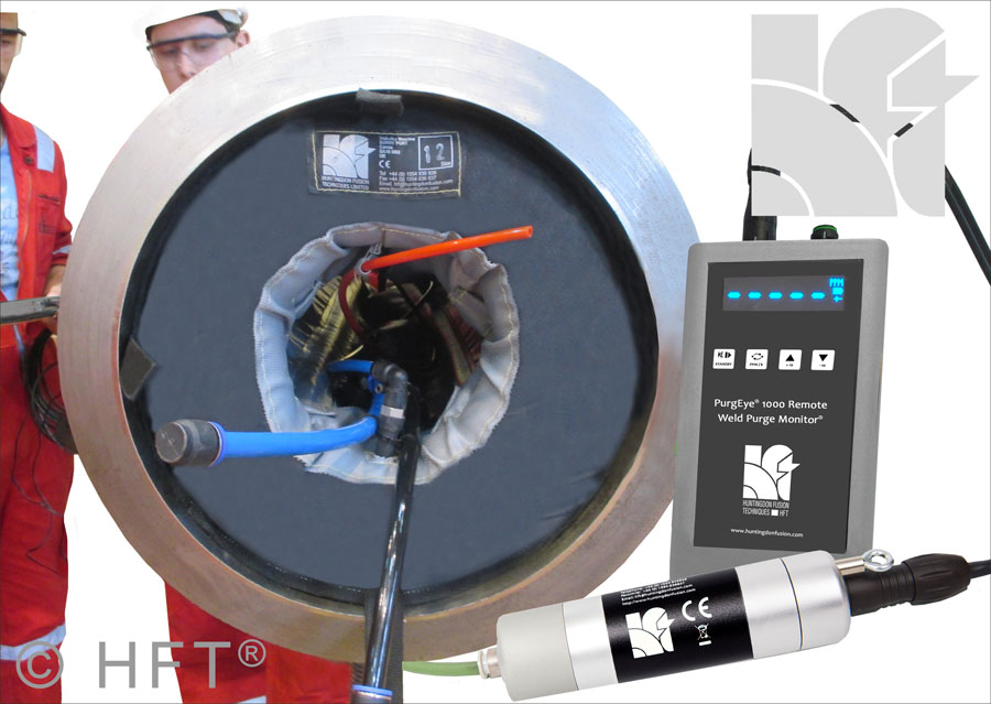 quickpurge, pipe purging, tube and pipe weld purging, weld purging technology. back purging