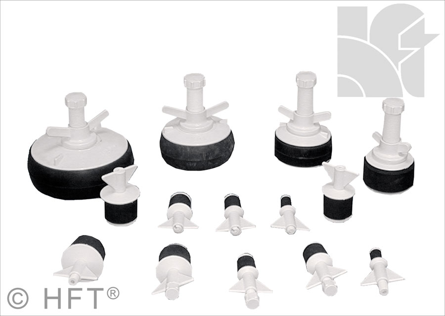 HFT Pipestoppers Nylon Pipe Stoppers Drain Testing Plugs