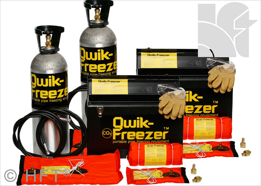 quick freeze, qwlik freezer, pipestoppers, pipe freezing, huntingdon fusion