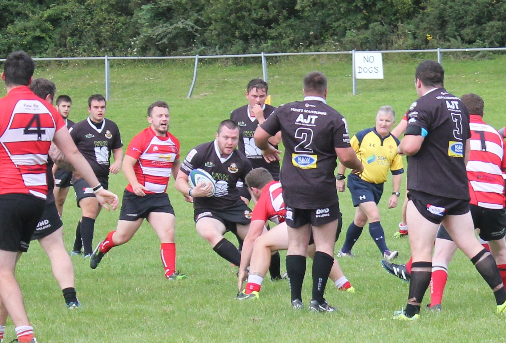 burry port, burry port rugby club, HFT sponsorship, huntingdon fusion
